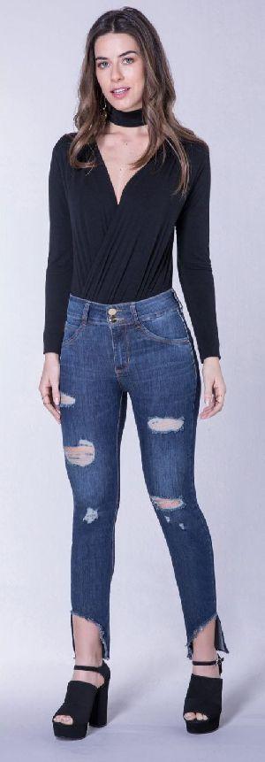 8634 - Ladies Puerto Madero Denim Jeans 02
