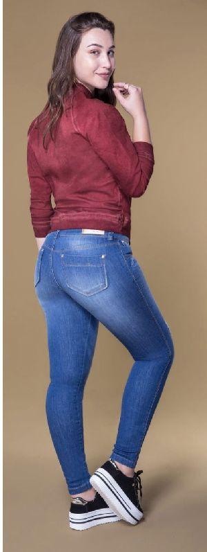 8636  - Ladies Caminito Denim Jeans 02
