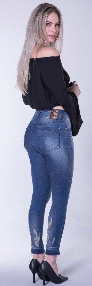 8644 - Ladies Puerto Madero Denim Jeans 02