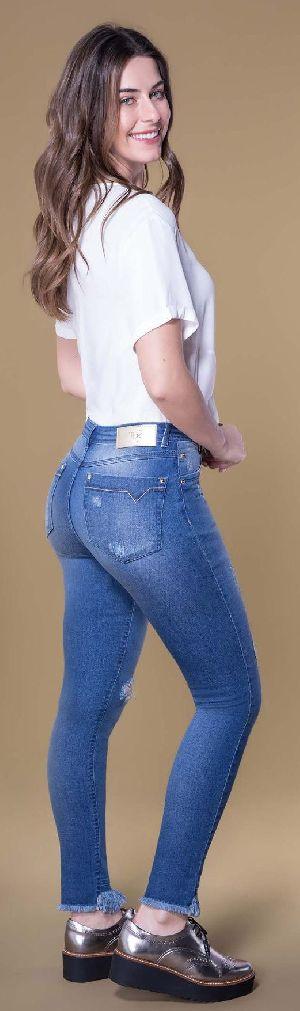 8645 - Ladies Caminito Denim Jeans 02
