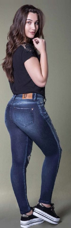 8662 - Ladies San Telmo Denim Jeans 01