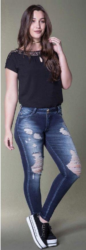 8662 - Ladies San Telmo Denim Jeans 02