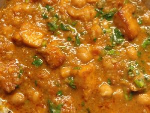 Paneer Chena Curry
