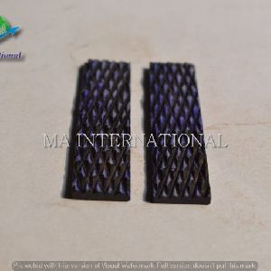 MAJBS25 Dyed Stabilized Jigged Bone Scales