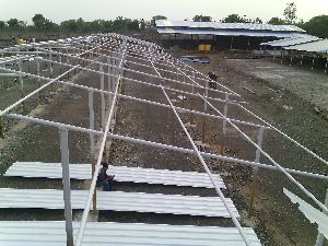 Roof Structural Fabrication Work