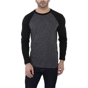 Mens Full Sleeve Round Neck T-Shirts