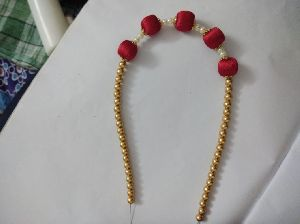 Silk Thread Necklace 02