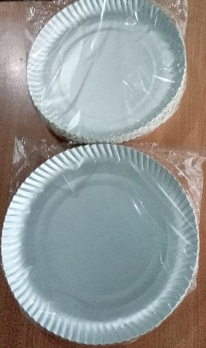 FROOTI/ TETRA PACK disposable paper plates ( Size 14 inch)