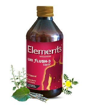 Elements Uri Flush-3 Syrup