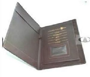 Leather Folder 05