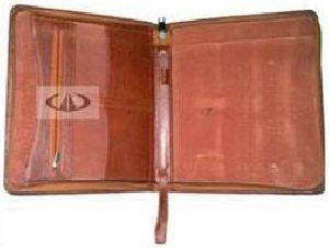Leather Folder 08