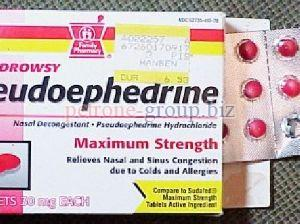 Pseudoephedrine Tablets