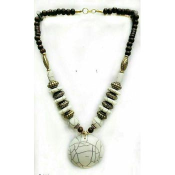 Stone Bead Pendant Necklaces