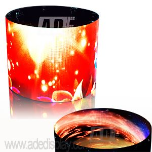 Flexible LED Cylinder Display 01