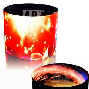 Cylinder Flexible LED Display Screen