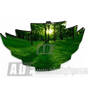 Special Shape LED Display 01