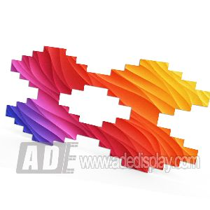 Special Shape LED Display 04