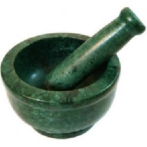 Green Mortar And Pestle Set