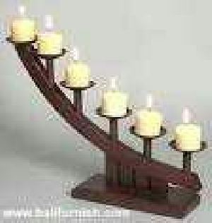 Wooden Candle Stand 05