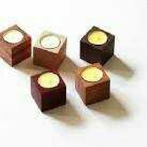 Wooden Candle Stand 07