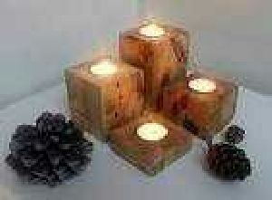 Wooden Candle Stand 08
