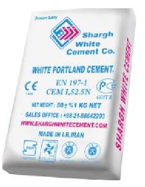 Shargh White Cement