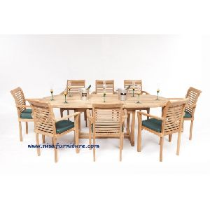 NFG07 Outdoor Garden Dining Table Set