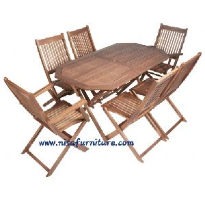 NFG30 Outdoor Garden Dining Table Set