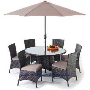 NFRT08 Rattan Dining Table Set
