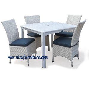 NFRT16 Rattan Dining Table Set