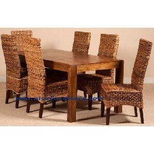 NFRT19 Rattan Dining Table Set
