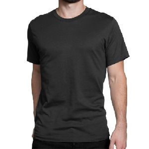 Mens Round Neck Plain T-Shirts
