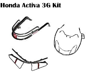 Honda Activa 3G Stainless Steel Guard Kit
