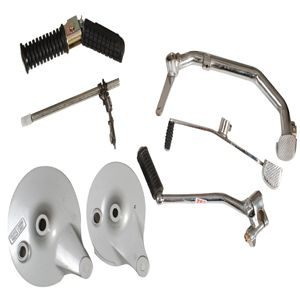 Two Wheeler Clutch And Break Lever Assembly