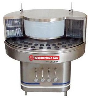 Semi Automatic Rotary Bottle Cleaning Machine