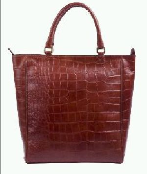 Leather Ladies Tote Bag 01