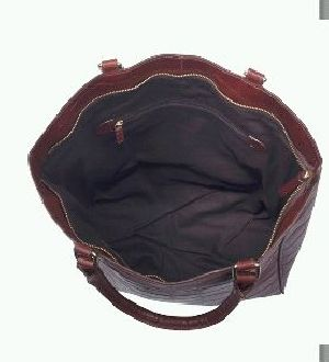 Leather Ladies Tote Bag 03