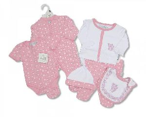 1717 Baby Cotton Suit Gift Set