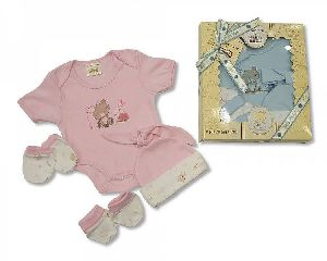 2363 Baby Cotton Suit Gift Set