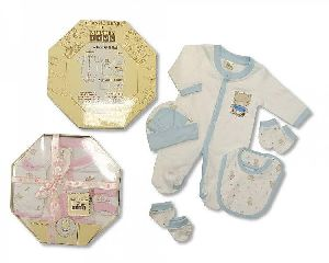 2366 Baby Cotton Suit Gift Set