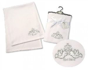 2799 Baby Christening Wrap