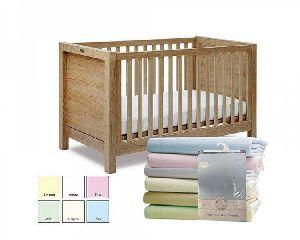 3026 2 Baby Cot Bed Sheet