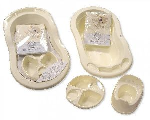 3511 4 Pieces Baby Bath Set
