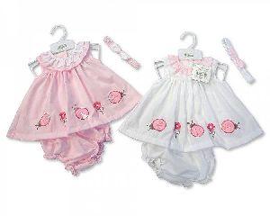 3628 Baby Girl Dungaree Set