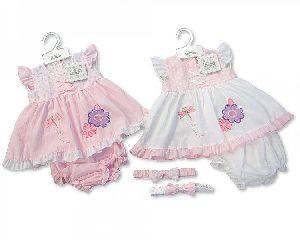 3630 Baby Girl Dungaree Set