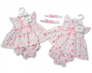 3631 Baby Girl Dungaree Set