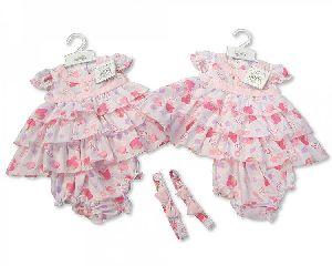 3632 Baby Girl Dungaree Set