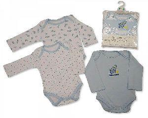 Baby Boy Long Sleeve Body Vest