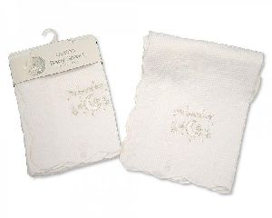 Baby Christening Embroidered Shawls