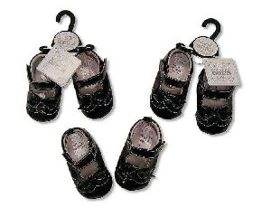 Baby Girls Black Shoes